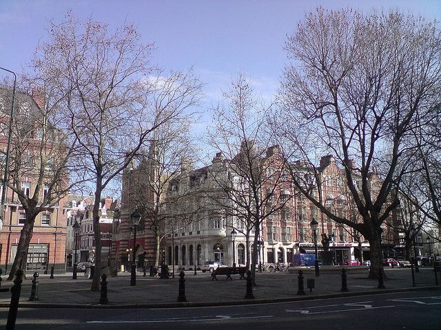 Sloane Square London, UK