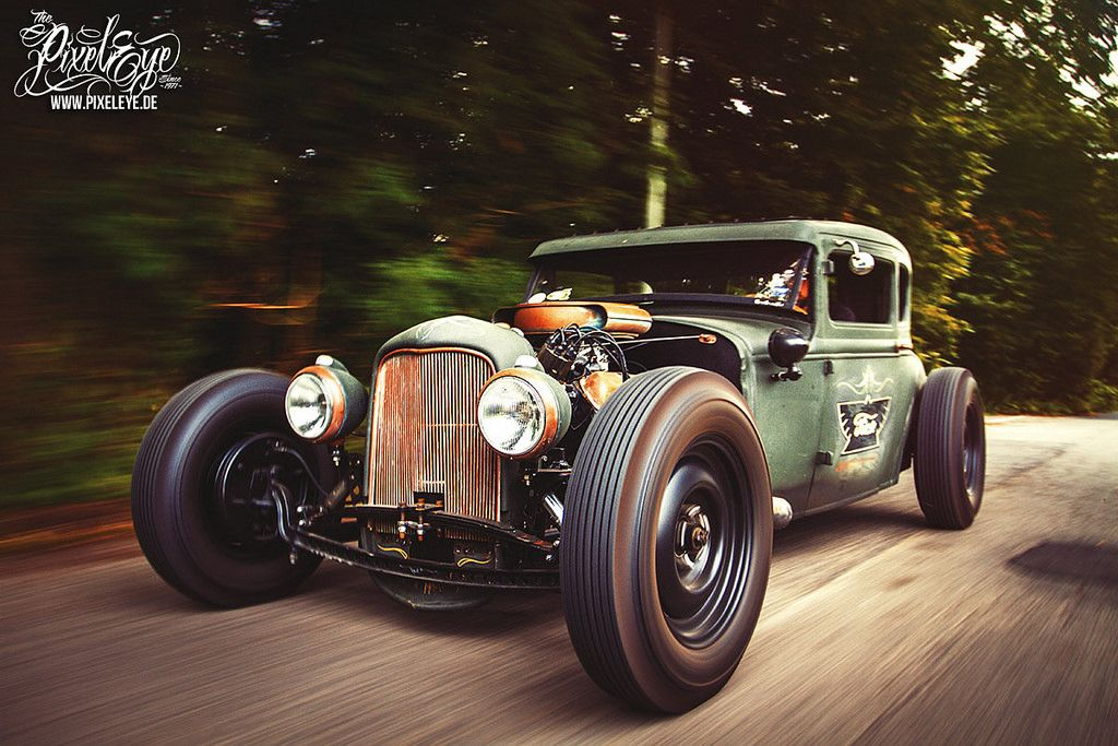 Hot Rod Racing (2015) par The Pixeleye Dirk Behlau | Because Race ...