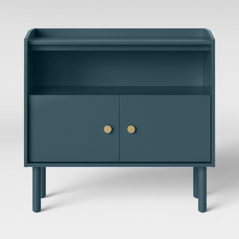 Wiley 2 Door Accent Cabinet Blue Project 62 Target Accent Doors Accent Cabinet Furniture