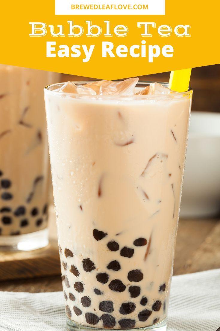 diy boba tea bar