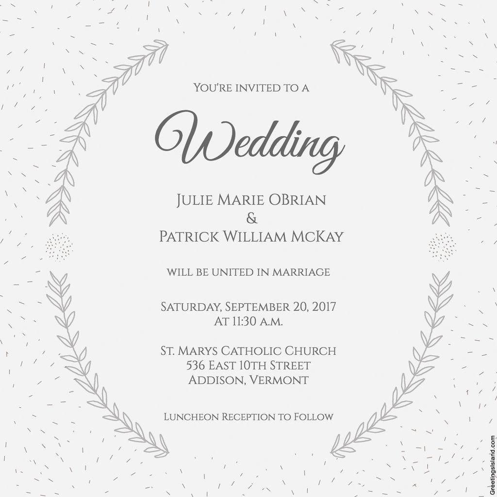 3 Beautiful Wedding-Invite Printables to Download For Free