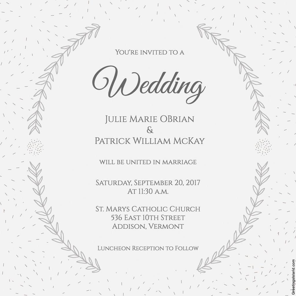 wedding: Wedding Invitation Templates Uk