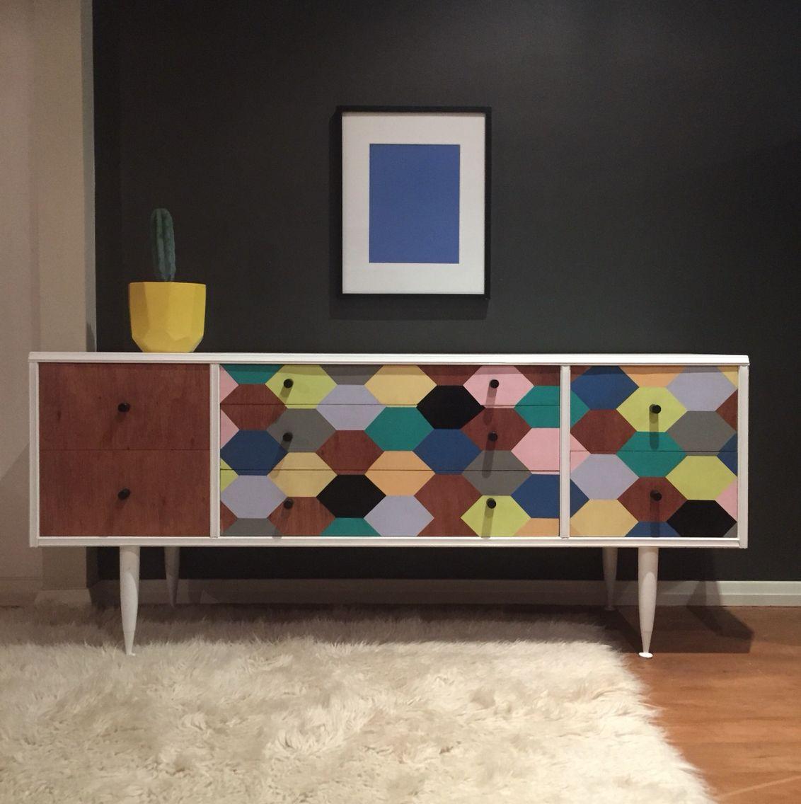 2e93f77137799795dfc2e863d17141b9 Painted Geometric Modern Credenza Sideboard on modern sideboard bookshelf, modern sideboard with mirror, modern sideboard kitchen, modern sideboard bar,