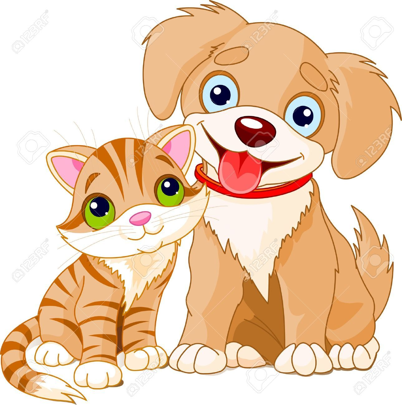 puppy and kitten clipart 1 1289—1300