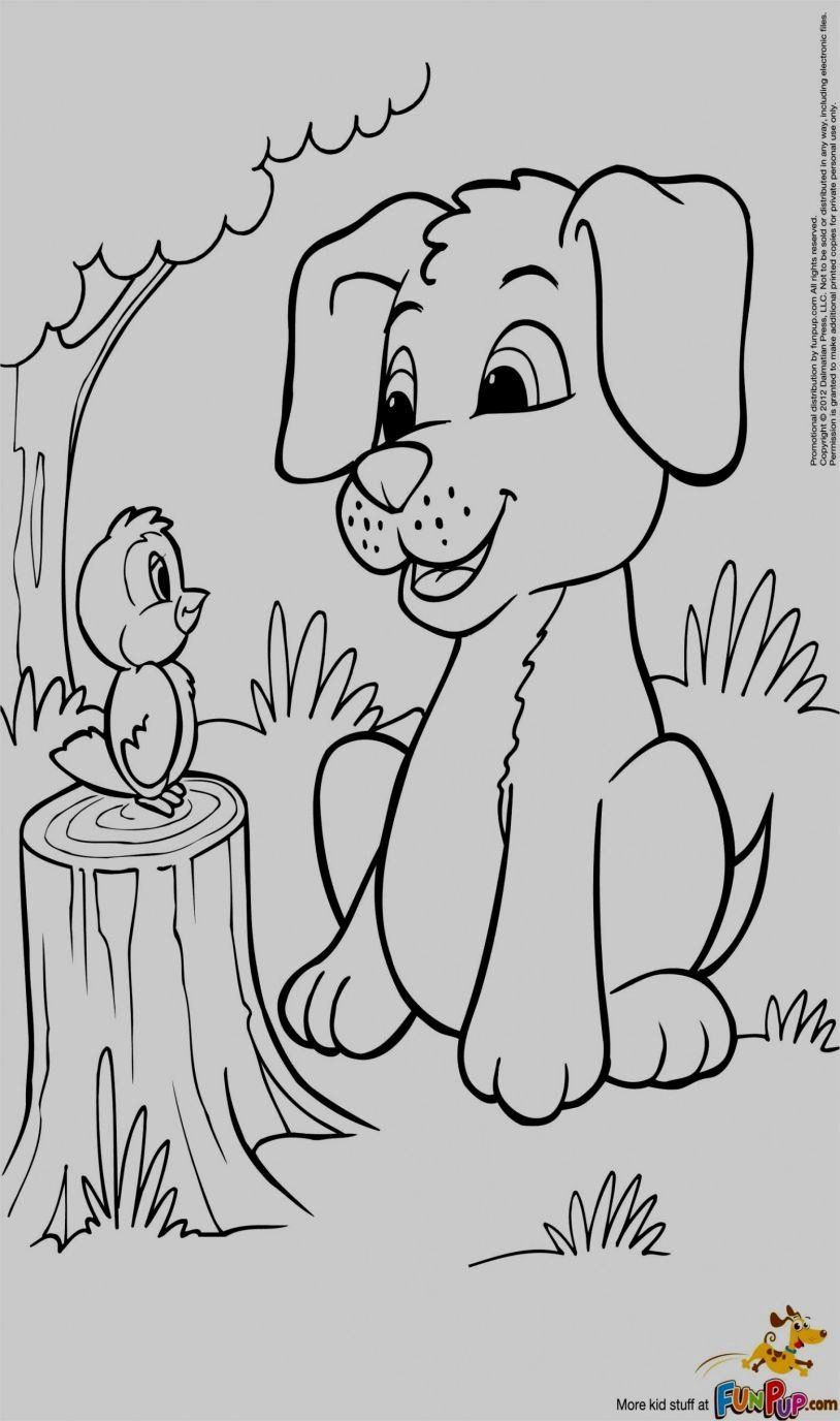 Cartoon Coloring To Print Best Of Puppy Colouring Pages Mini