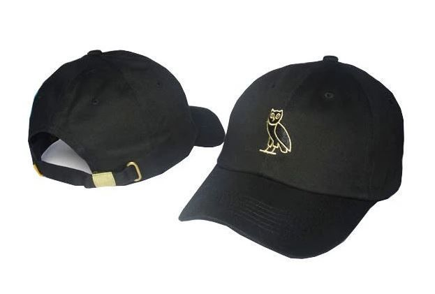 94abfce6ea97 Now In Stock! OVO Owl Dad Cap Strapback Hat. Three color options. Which
