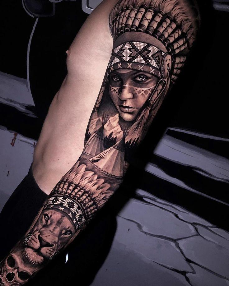 Native American Tattoo Tattoo Ideas And Inspiration American Tattoos Native American Tattoo Native American Tattoo Designs