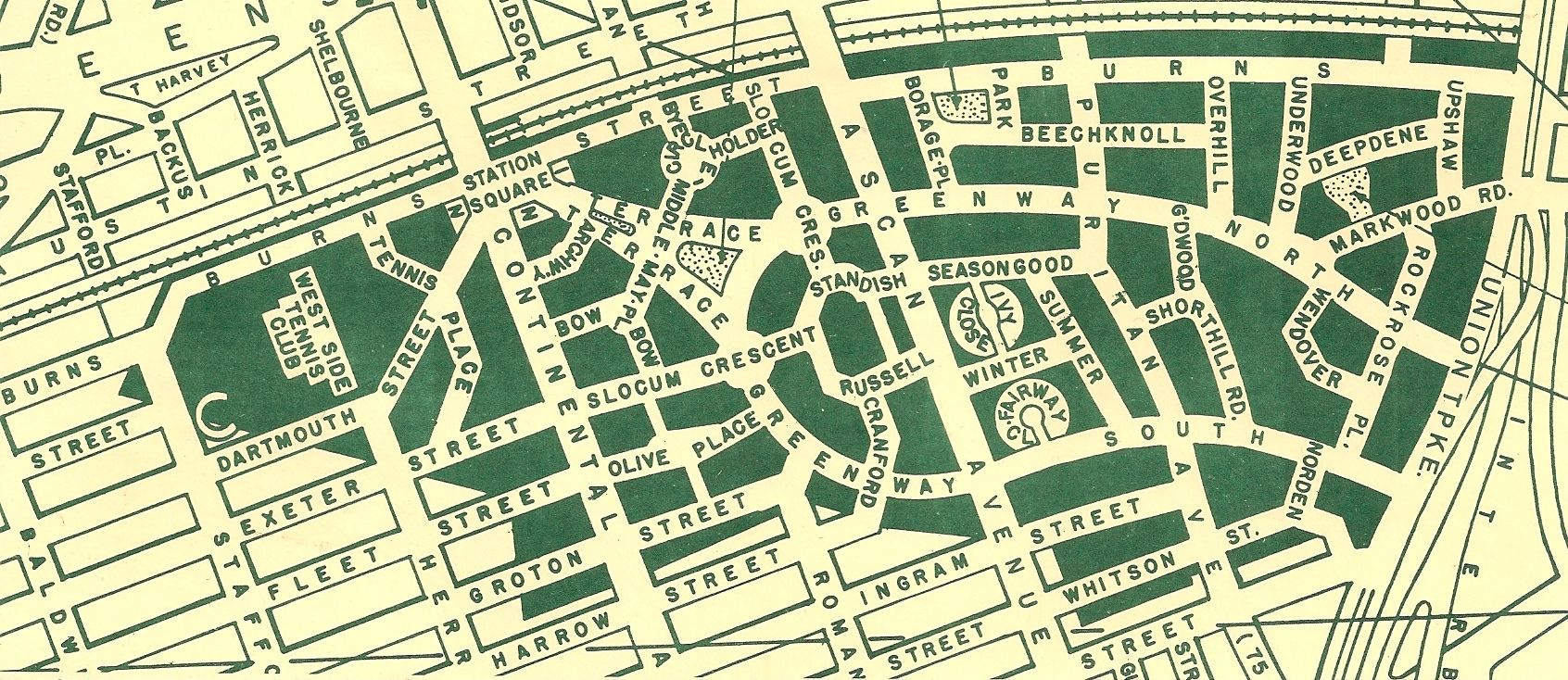 Subjective Cartography Of Forest Hills Forest Hills Gardens