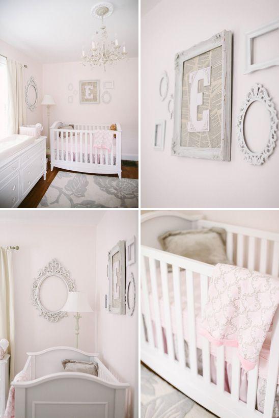 Emmaline S Soft And Pretty Blush Pink Nursery Nursery Baby Room