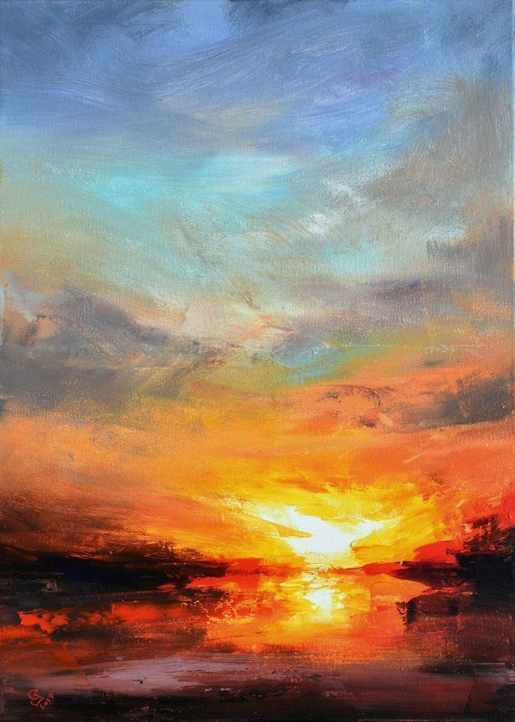 Photo of Illustrations posters  #landscape #paintings #acrylic #abstract landscape painti…