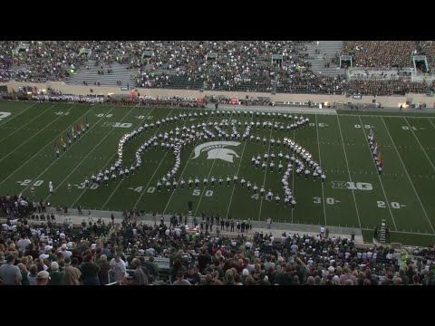High Step A Story Of The Michigan State Marching Band Youtube Michigan State Football Michigan State University Michigan State