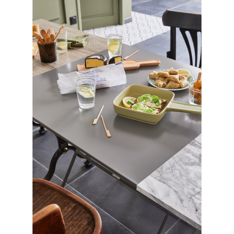 Table Repas 2 Personnes table de jardin de repas naterial carrée 2 personnes | table