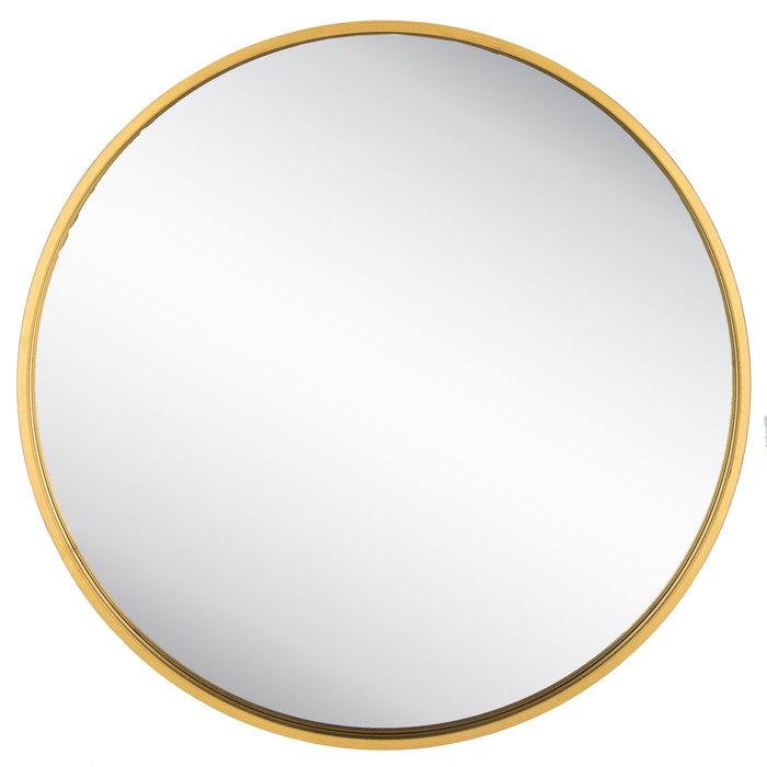 Round Gold Metal Wall Mirror Metal Walls Mirror Art Metal