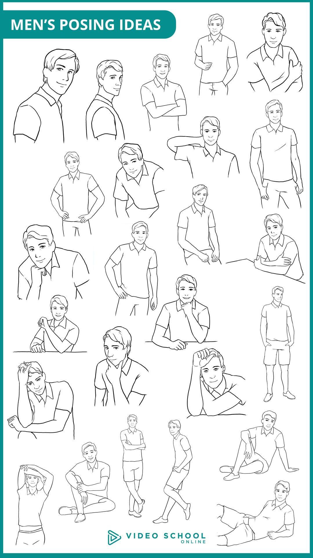 Tips men posing for Tips for