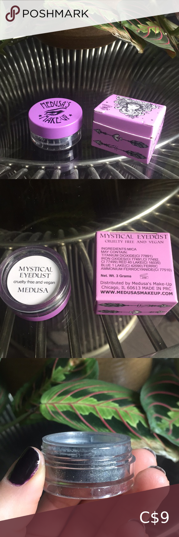 Médusa eye dust 3/30☀️ NWT in 2020 Colorful eyeshadow