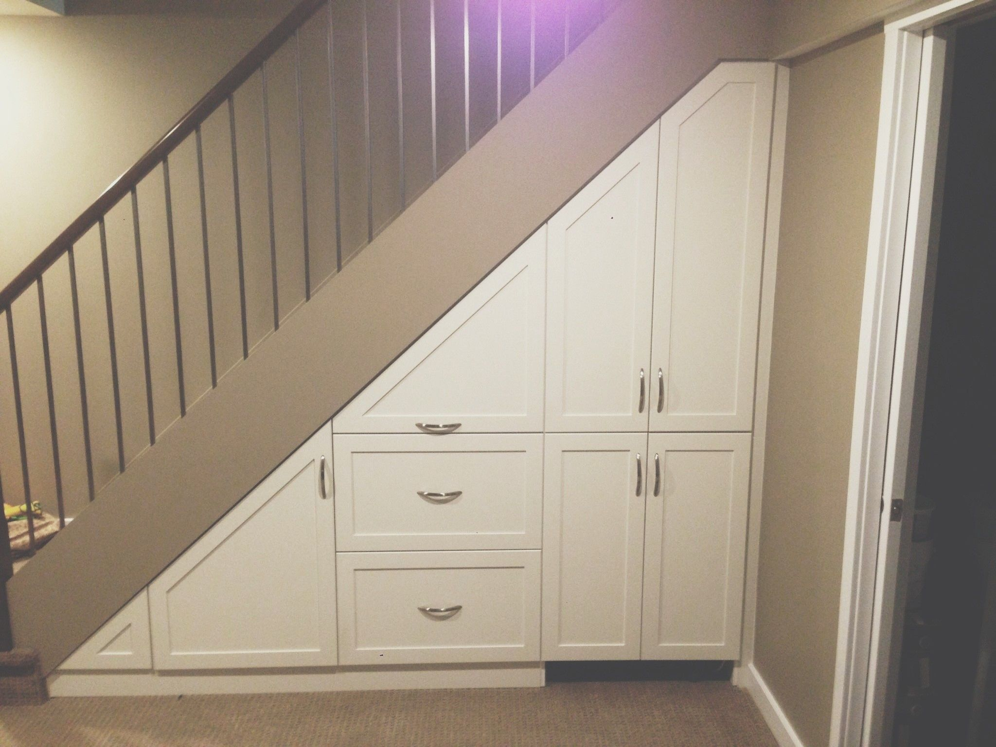Best Under Stairs Closet Storage Ideas Andrea Outloud Also