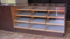alte ladentheke holz glas schubladen verkaufstheke. Black Bedroom Furniture Sets. Home Design Ideas