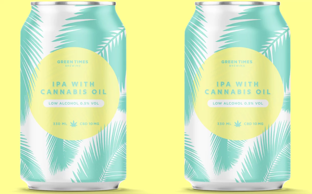 Green Times Brewing Launches Low Alcohol Cbd Beer In The Uk Alcohol Brewing Low Alcohol Beer