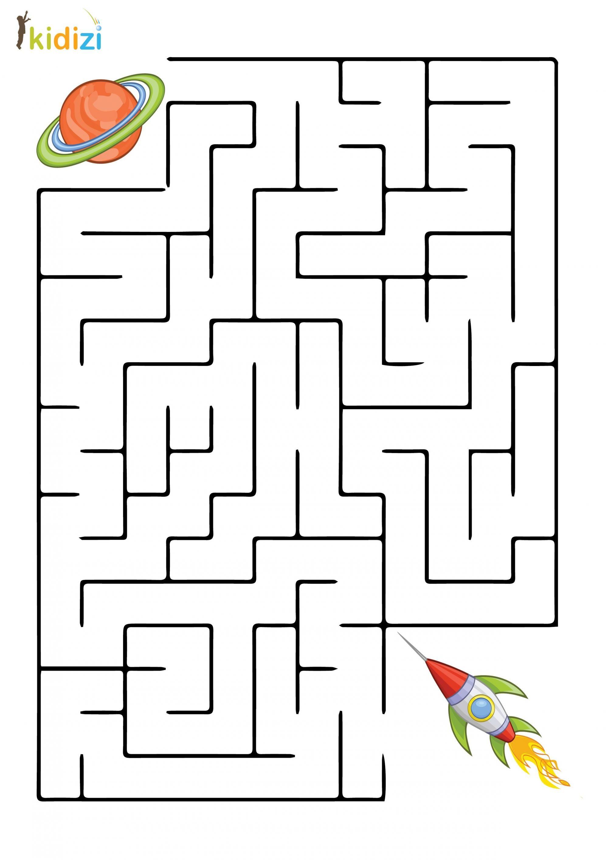 Plansa Educativa Labirint 4