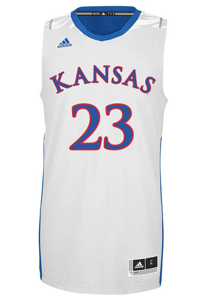 b19ebbb86541 KU new on-court March Madness jersey
