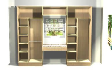 Built In Wardrobe Designs For Bedroom Adorable Bedroom Cupboards Designed With 3D Software  Newyork Bagels Design Ideas