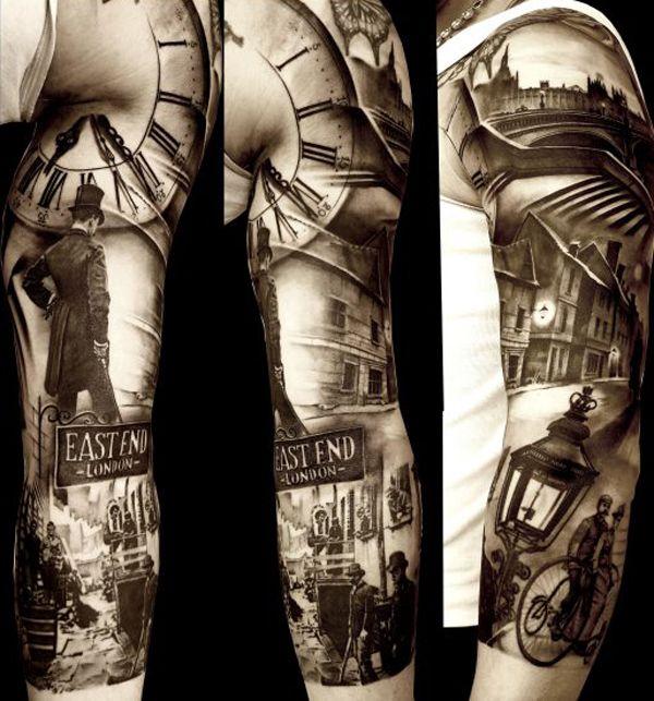 Multiple Tattoo Sleeve: Matteo-Pasqualin InkArmy 4