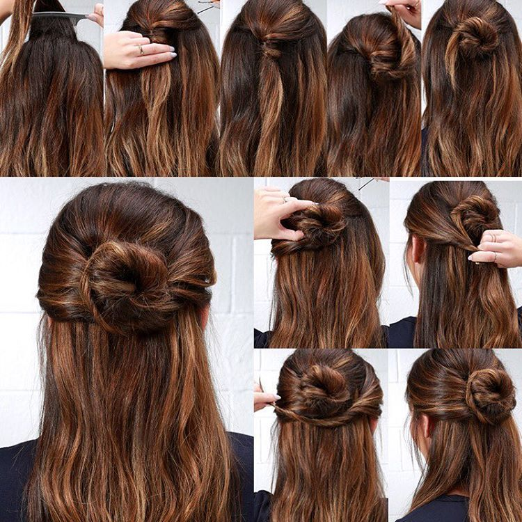 This Stylish Halfup Do Adds A Sophisticated Twist On A Classic - Classic hairstyle tutorials