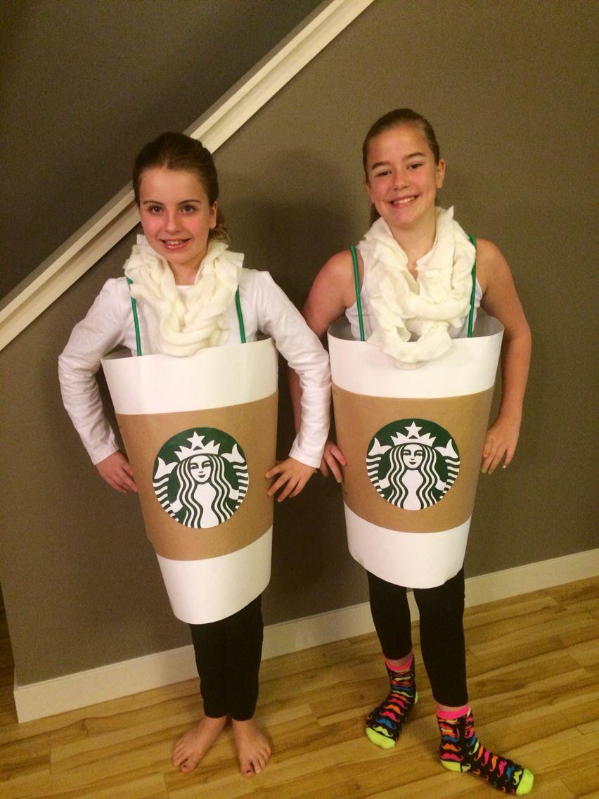 My homemade Starbucks pumpkin spice lattes halloween