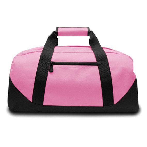 Personalized Youth duffle bag soccer bag  gym by SewCraftyMeSC ... 2c69188c2f