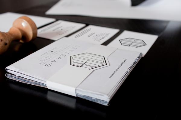 Lettera G (Brand Identity) by Corrado Grilli, via Behance