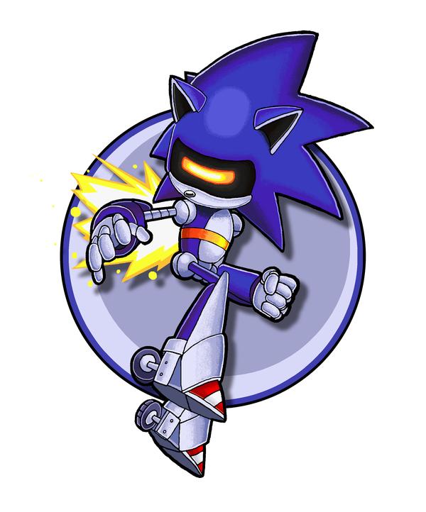 Sonic Channel Mecha Sonic Sonic Sonic Art Mecha