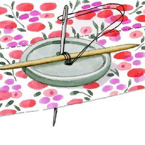 coudre des boutons bricolage tissu pinterest n hen hand gen ht und handarbeit. Black Bedroom Furniture Sets. Home Design Ideas