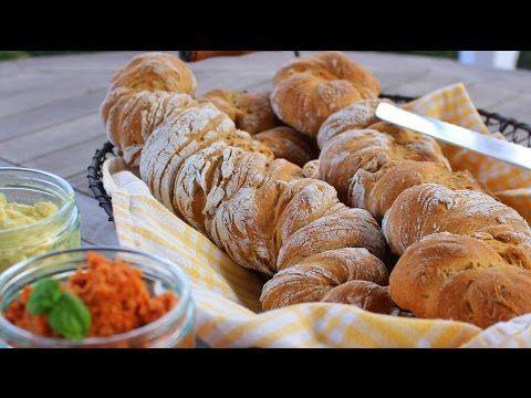 Würziges Brot - http://back-dein-brot-selber.de/brot-selber-backen-videos/wuerziges-brot/