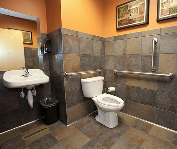 Office Bathroom, Bathroom, Restaurant