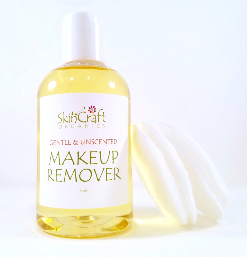 Natural Makeup Remover for All Skin Types Including Oily