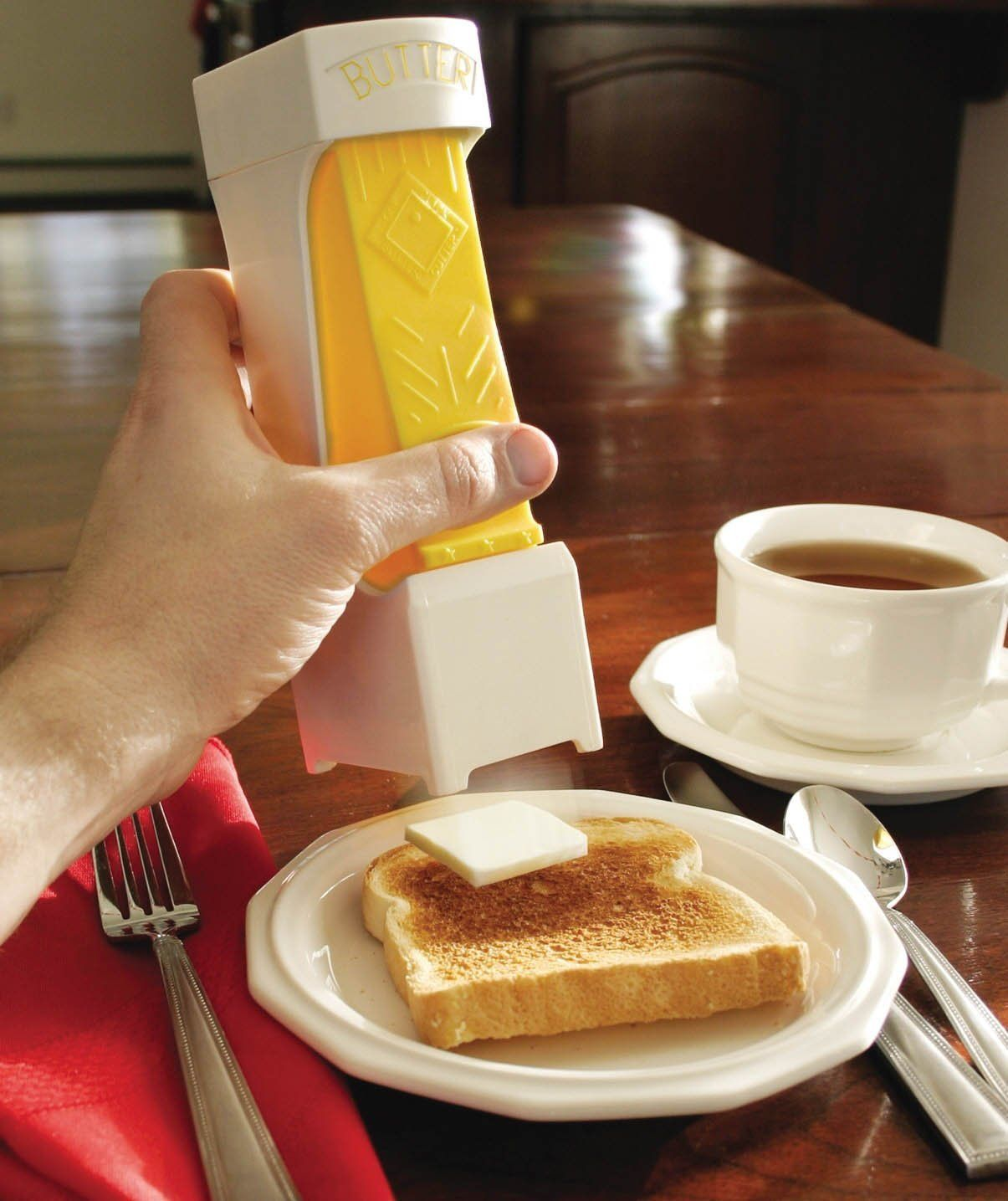 One Click Butter Dispenser The Coolest Gadgets Electronics Geeky Stuff And More