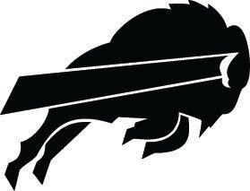 Buffalo Bills Football Logo Custom Vinyl Graphic By VinylGrafix - Custom vinyl decals buffalo ny