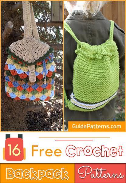 16 Free Crochet Backpack Patterns Guide Patterns Crochet