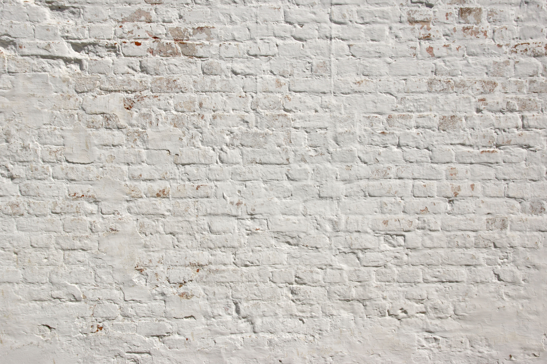 кирпичная белая стена фото после