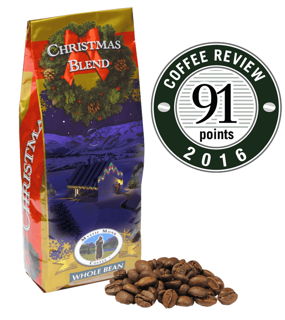 Christmas Blend Coffee Beans Mystic Monk Coffee