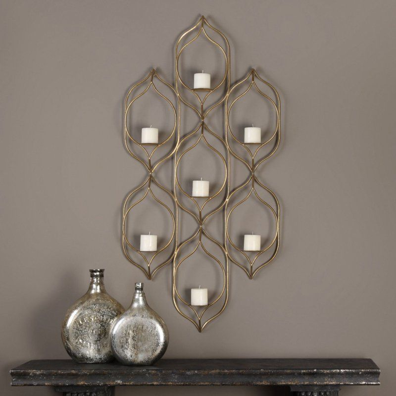 Uttermost Rovena 7 Candle Wall Sconce - 04049