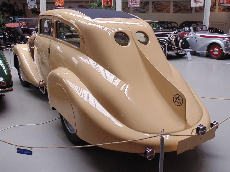Wikov Type 35 Kapka, The first Czech streamlined car, 1931 | Dream ...