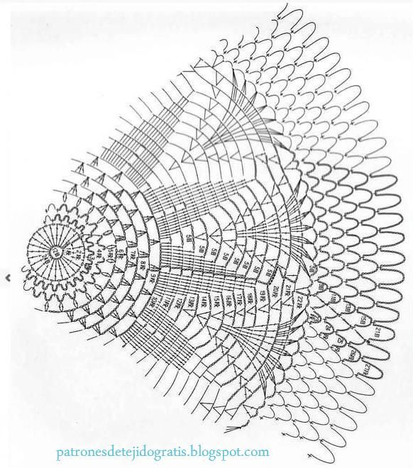 Resultado de imagen para carpetas redondas en crochet patrones ...