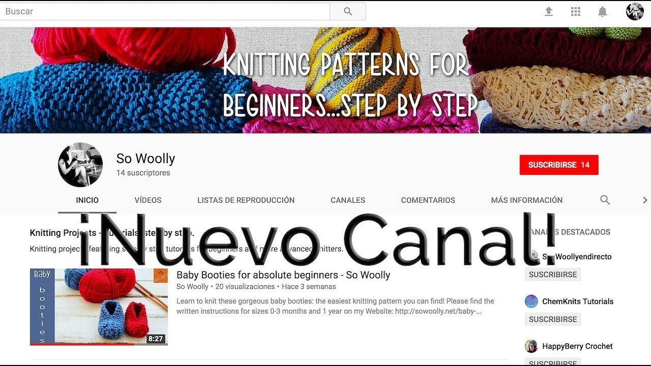 Nuevo Canal en You Tube en inglés \