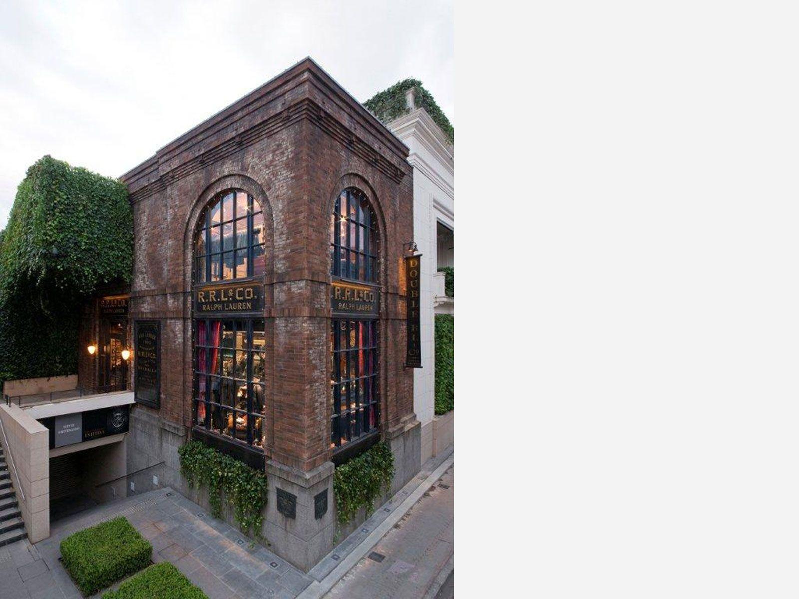 Rrl Omotesando Tokyo Japan Arhitektura Arhitektura Fasadov Viktorianskij Dom