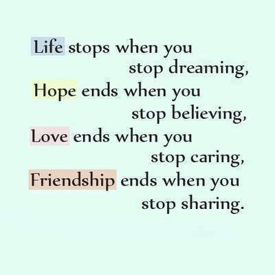 friendship quotes love and life