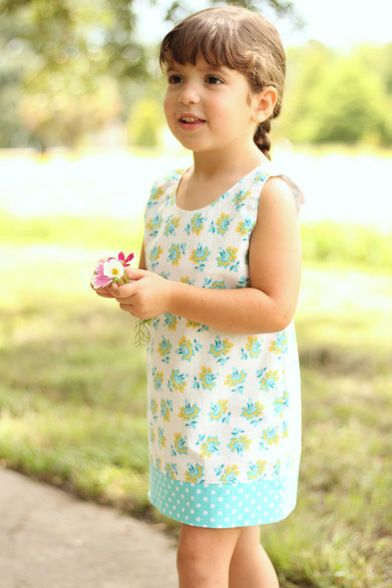 Simple Life Pattern Company PDF sewing patterns girls child size 2t ...