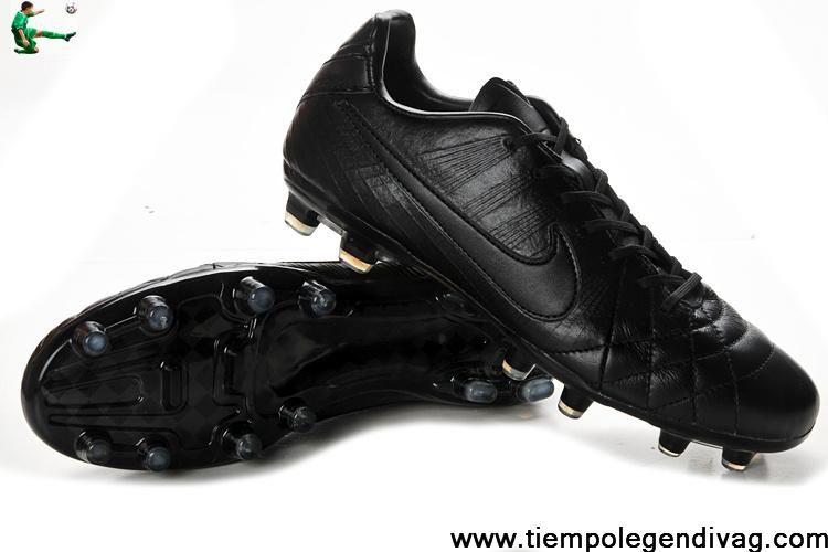 0486a4c73 Latest Listing Discount Nike Tiempo Legend IV Elite FG - All Black Soccer  Boots Shop