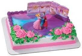 Sleeping Beauty Aurora Cake Decoration Party Supplies Topper Kit Set Princess Dc