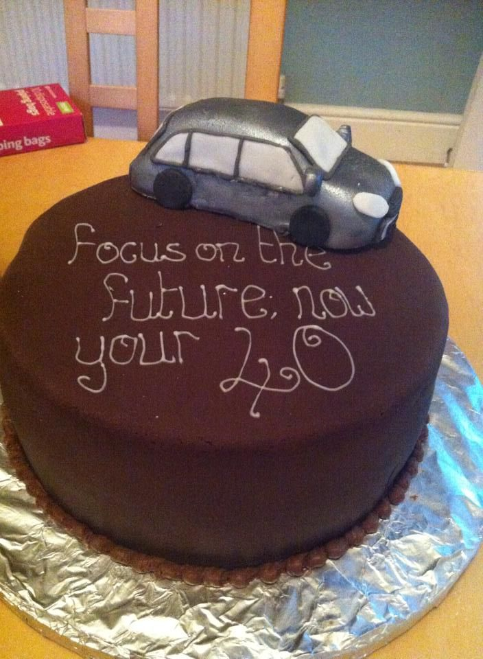 chocolate car birthday cake Selection of Cake Creations
